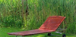 gartenliegen wetterfest aus Holz, Alu & Kunststoff